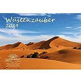 Wüstenzauber · DIN A4 · Premium Kalender 2019 · Wüste · Sand · Düne · Sahara · Gobi · Oase · Steppe · Nordafrika · Tiere · Wildnis · Natur · Edition Seelenzauber -
