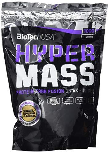 BioTech Hyper Mass Mischung aus Protein, Geschmack Karamell und Cappuccino - 1000 g