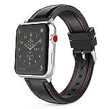 MoKo Apple Watch Series 3 Armband 38mm, Silikon Sport Band Uhrenarmband Erstatzband für Apple Watch...