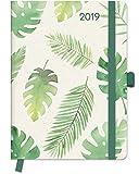 Floral 2019 - GreenLine Kalender, Taschenkalender, Buchkalender  -  16 x 22 cm
