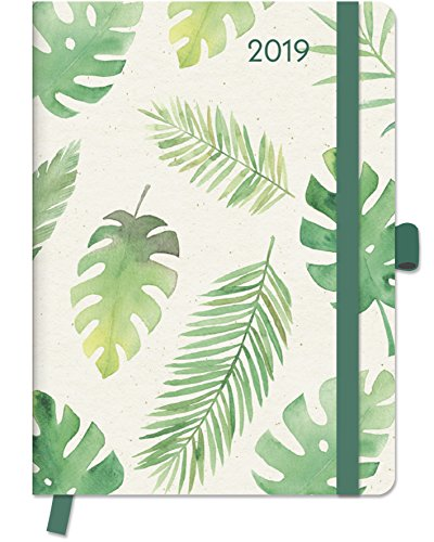 2019 Floral GreenLine Diary