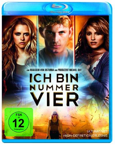 Ich bin Nummer Vier [Blu-ray]