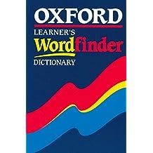 Oxford Learner's Wordfinder Dictionary (Diccionario Wordfinder)