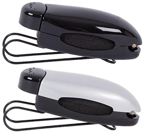 2Stoned Bundle Original Autobrillenhalter Beetleclips in Schwarz und Silver