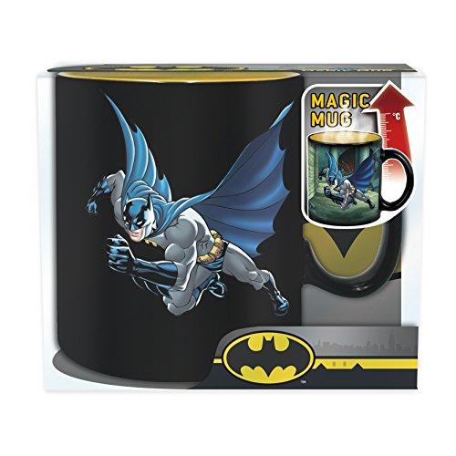 ABYstyle–Dc Comics–Taza Heat Change–Batman and Joker Unisex-Adult, abymug382