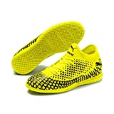 Puma Future 4.4 It Jr', Scarpe da Calcio Unisex-Bambini, Giallo (Yellow Alert Black), 37.5 EU