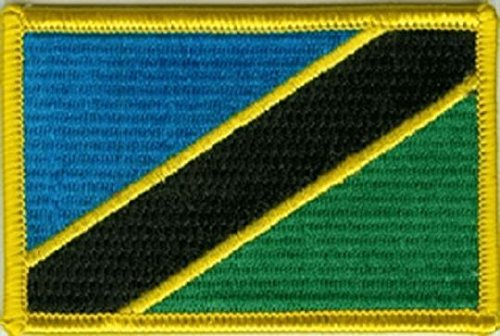 U24 Aufnäher Tansania Aufbügler - Tansania Patch