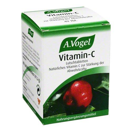 Vitamin C A. Vogel Lutsch 40 stk