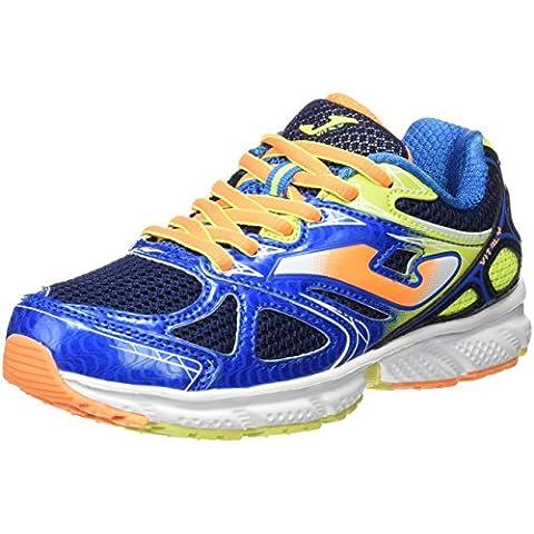 Joma J.vitaly Jr 603 Azul-naranja - Zapatillas de running Niños