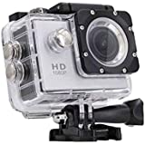 Rewy Brobeat 1080p 12MP Sports Waterproof Camera with Micro SD Slot and Multi Language Action Video Up to 30m 2-inch LCD Super Wide Angle (Random)