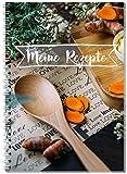 Rezeptbuch zum Selberschreiben - mit Register / Ringbuch A5 Kochbuch / für all deine Lieblingsrezepte / auch als Geschenkidee - Von Sophies Kartenwelt