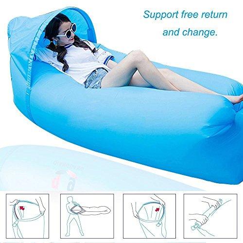 Air Sofa, Sunshine Home wasserdichtes aufblasbares Sofa, tragbares aufblasbares Sofa / Bett /...