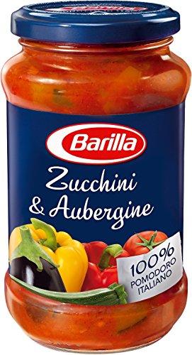 Barilla Pastasauce Zucchini & Aubergine, 6er Pack (6 x 400 g)