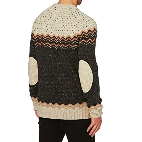 Fjällräven Herren Övik Knit Sweater Pullover dark grey