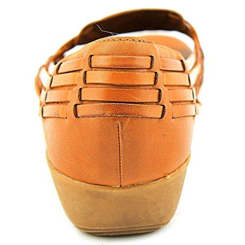 Naturalizer Nerissa Damen Leder Keilabsätze Sandale Ginger Snap