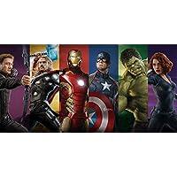 Marvel Avengers Team Cotton Beach Bath Towel 70 x 140cm Infinity War