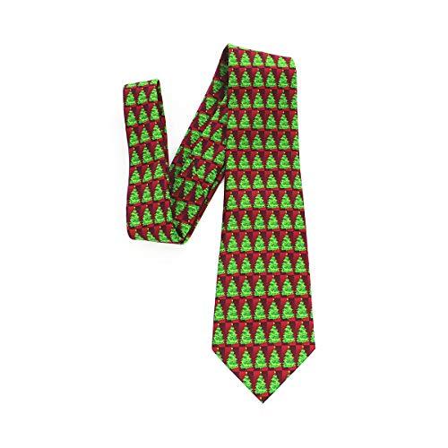 Fenical Weihnachten Krawatte Krawatten Herrenmode Seide Krawatten Halloween -
