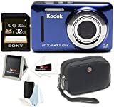 Kodak PIXPRO Friendly Zoom FZ53 Blue Sony 32  GB Class 10 70MB s SDHC Memory available at Amazon for Rs.12837