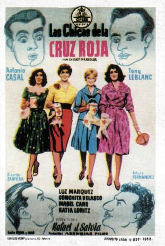 red-cross-girls-poster-11-x-17-inches-28cm-x-44cm-1958-spanish-style-a