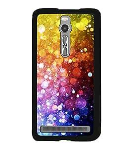 Fiobs Designer Back Case Cover for Asus Zenfone 2 ZE551ML (jaipur rajasthan african america cross pattern)
