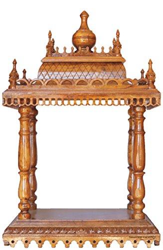Swaroop Carvings 0745734169660 Handcrafted Teak Wood