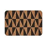 BUTLERS Retro Wave Tischset Kork 30x45 - Platzset mit grafischem Muster, Anthrazit - Untersetzer als Platzdeckchen