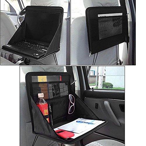 Gadget Zone UK Klapptisch für Auto Rücksitz-Tidy Organiser DVD Laptop-Tablett mit