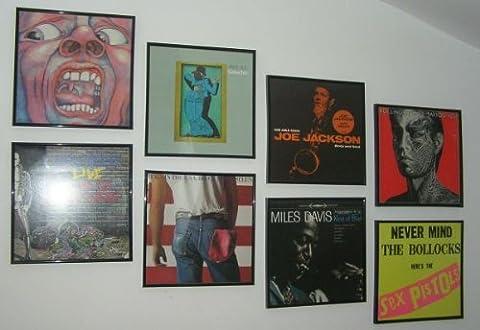 Cadre Pour Vinyle - 3 pièces cadres pour pochette de disques