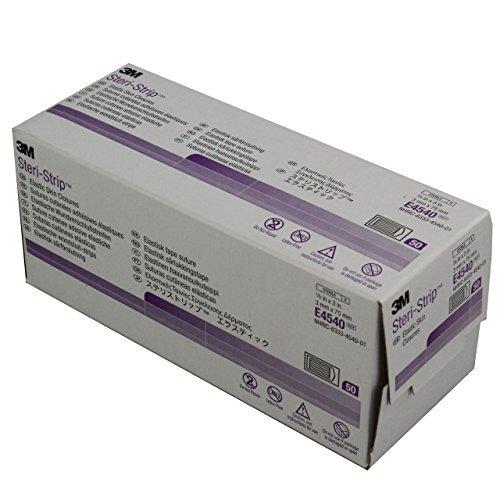 3M Steri Strips Wundverschluss-Streifen, 3 mm x 75 mm, 250 Stück - Sterile Wundverschluss