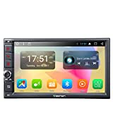 """2 Din Car Stereo GA2167 Eonon 7""""Android 7.1 Double Din Car Stereo Octa Core 32GB 2GB Radio Sat Nav GPS Navigation Head Unit Touch Screen With Bluetooth 4.0 Support DAB+ RDS WIFI 4G OBD2 Cam-In Support Dash Cam"""