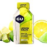 GU Energy Gel Energizante de Limón - Paquete de 24 x 32 gr - Total:...