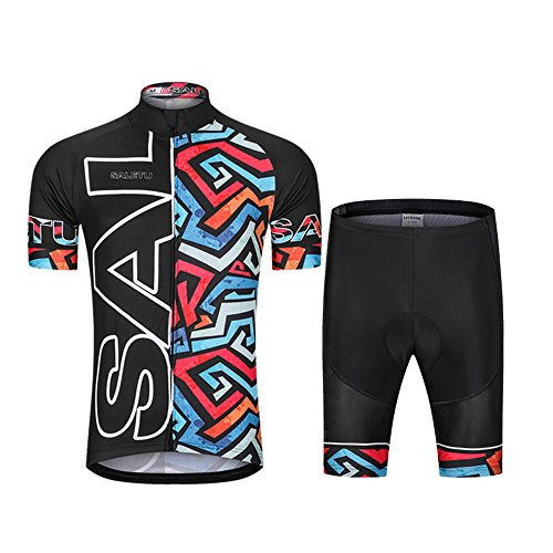 3a76d5eeb WSNH888 Spring and Summer Bicycle Cycling Suits Moisture Wicking Jersey  Short-Sleeved Outdoor Riding Suits