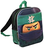 Lego Ninjago Movie Lloyd 3D Backpack , Cabin Laguage School Sholder Bag Back Pack with Water Bottle Mesh Pocket- Perfect Gift for Lego Fans !