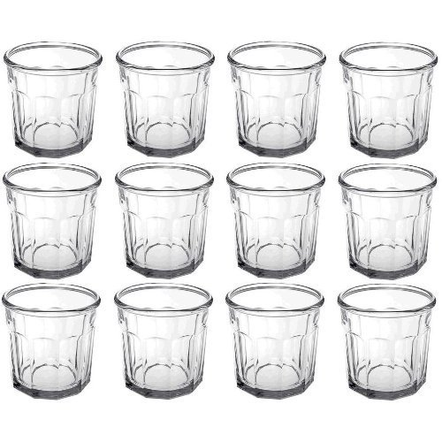 Luminarc 14 Ounce Double Old Fashioned Working Glass Tumbler, Set of 12 by Luminarc 14 Oz Double Old Fashioned