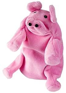 Hape Hand Glove Puppet Pig, Multi Color