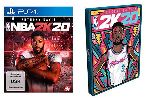 NBA 2K20 Standard Edition inkl. Steelbook (exkl. bei Amazon.de) - PlayStation 4 [Edizione: Germania]