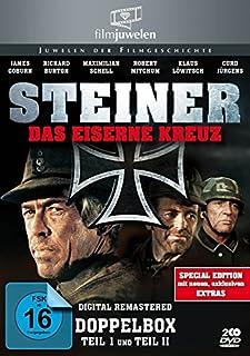 Steiner - Das eiserne Kreuz Teil 1+2 (Doppelbox) - Filmjuwelen [2 DVDs] [Special Edition]