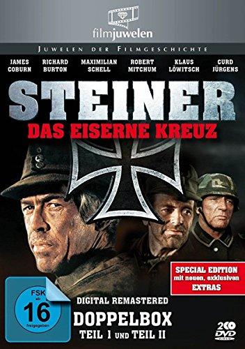 Steiner – Das eiserne Kreuz Teil 1+2 (Doppelbox) – Filmjuwelen [2 DVDs] [Special Edition]