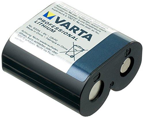 Varta CR–Batterien (Lithium, Prismatic, 6V, Schwarz)