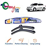#8: myTVS Aero Tech Frameless Wiper Blades for Maruti Suzuki Swift Dzire (All Years) 21 inch & 19 inch