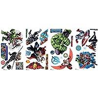 RoomMates RMK2242SCS RM - Marvel's Avengers Wandtattoo, PVC, Bunt, 29 x 13 x 2.5 cm