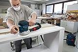 Bosch Professional GEX 125-150 AVE Exzenterschleifer, 3 Schleifteller (125mm, 150mm, 150mm 8+1 Lochung), 2x Schleifpapier, 400 W, L-Boxx - 5