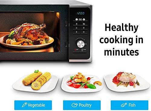 Samsung MS23F301TAK Solo Microwave, 800W, 23 Litre, Black