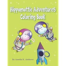 Hippomottie Adventures Coloring Book: 25 Page Activity Book