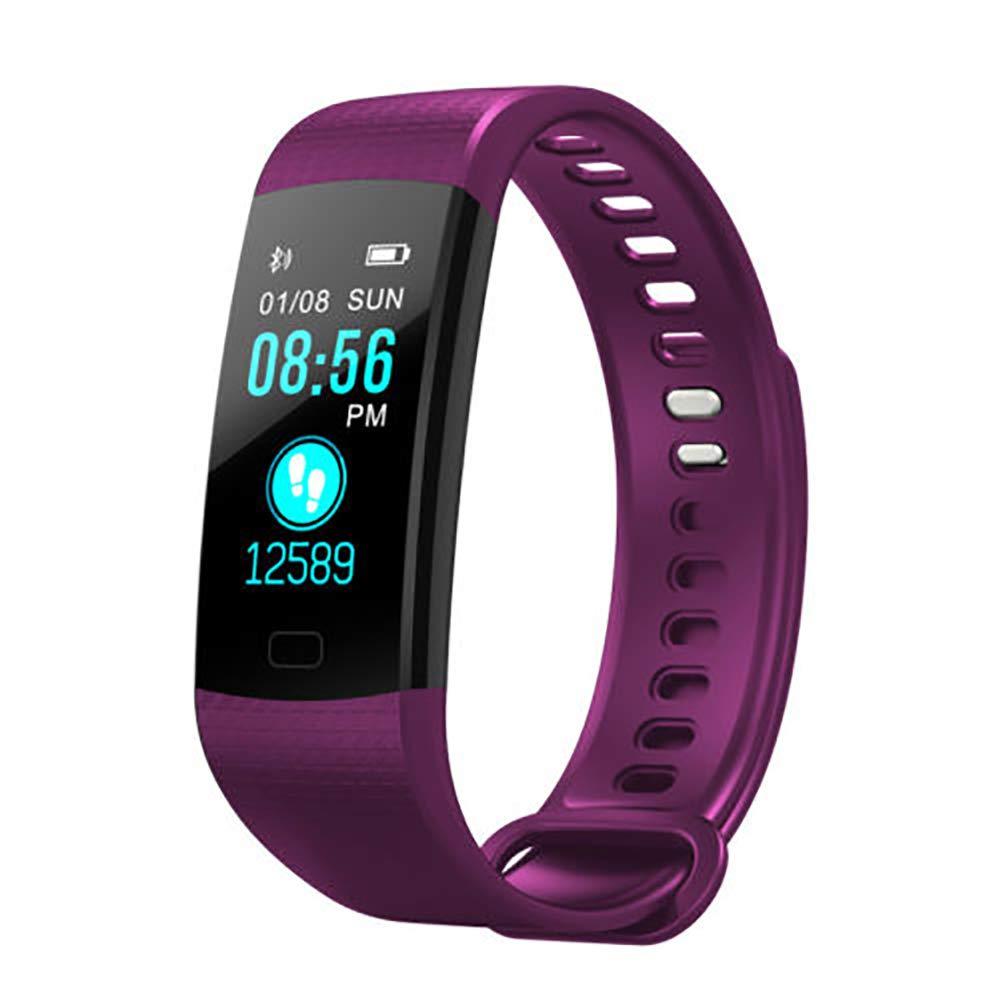 Milnnare Reloj Inteligente Presión Arterial Frecuencia cardíaca Monitor de sueño Podómetro Sports Fitness Smart Pulsera… 1