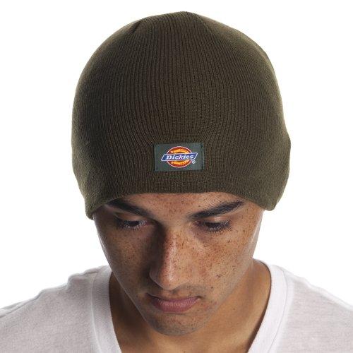 Dickies Brown Olive Beanie Hat