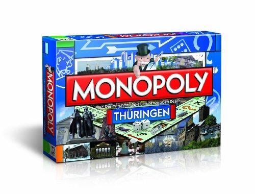 Preisvergleich Produktbild Winning Moves 42419 - Monopoly Thüringen