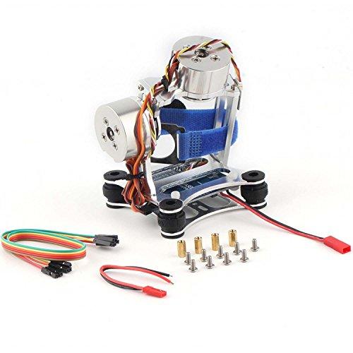 Brushless Giunto Cardanico Camera Supporto a Ventosa con Motore e Regolatore per Gopro Hero 3 (Aerei Ventose)