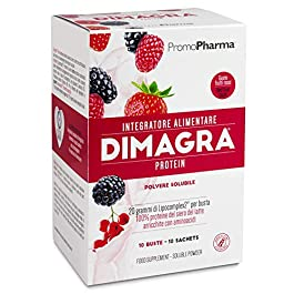 Dimagra Protein Red Fruit Sachets Integratore Alimentare – 220 gr