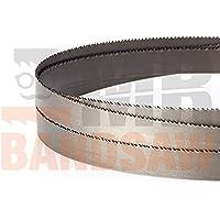 1435 x 13 x 0.65mm x 8/12 TPI M42 Bimetal cuchilla para sierra